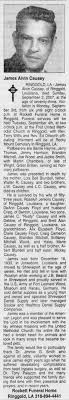 Obituary for James Alvin Causey, 1933-2007 - Newspapers.com