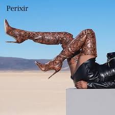 <b>Perixir Thigh High Over</b> the Knee Boots for Women Shoes ...