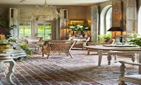 Brick Floors In Kitchen French Provincial Dining Room Furniture Country Kitchen Flooring