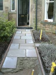 front path and victorian edging tiles olive garden design and landscaping
