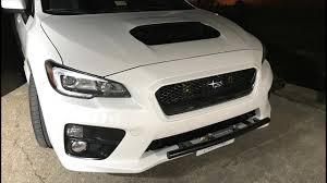 2015 Sti Rally Lights 2015 Subaru Wrx Ep 911 Installing The Ssd Light Bar