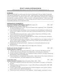 Resume General Summary For Resume Luxury Healthcare