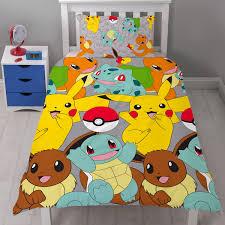 bedding pokemon catch reversible duvet set expand