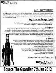 Key Accounts Manager | Tayoa Employment Portal