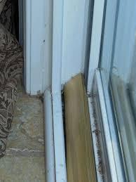 sliding door security rod