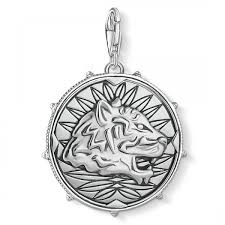thomas sabo disc dragon tiger charm