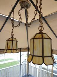 tiffany hanging lamps value twin swag chandelier double ceiling lamp vintage stained glass