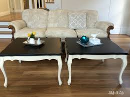 Style Coffee Table Lilyfield Life A Pair Of French Style Coffee Tables
