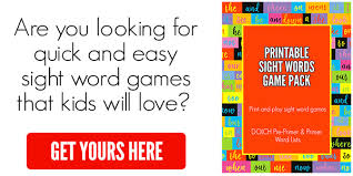 Sight Words Flash Cards Dolch Sight Words Free Download