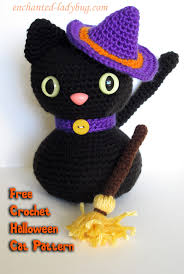 Halloween Crochet Patterns Extraordinary Free Crochet Amigurumi Halloween Black Cat Pattern