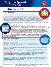 COVID-19 Guidance for Self Home Quarantine Arkansas Department of Health