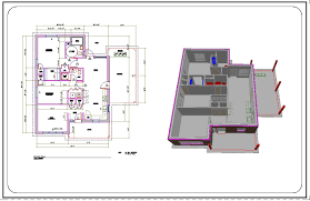 free cad drawing house plans 2