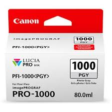 <b>CANON</b> Tinte <b>PFI</b>-<b>1000 PGY</b>, Fotograu (0553C001) ab CHF 44.00 ...