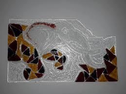 elephant glass wall sculpture sculpture