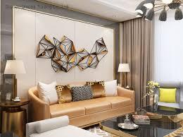 wrought iron geometric metal decoration