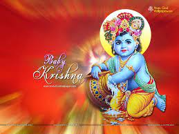 Cute Baby Krishna Wallpapers & Images ...