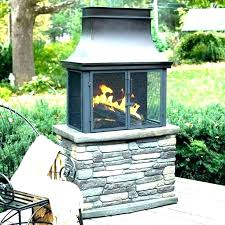 outdoor wood burning fireplace kits s