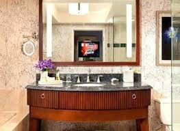 Bathroom Tv Mirror Glass Luxury Worldwide Buildmuscle Realie