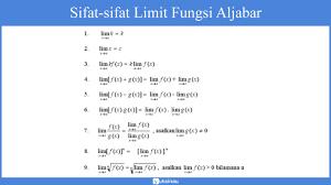Metode video ini menampilkan bagaimana menjawab soal limit fungsi aljabar bentuk akar(akarnya berada. Limit Fungsi Aljabar Definisi Sifat Metode Trigonometri Teorema