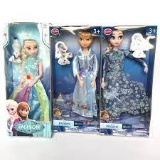 Đồ chơi cho bé gái Búp bê Nữ hoàng băng giá ELSA và Olaf (FROZEN)