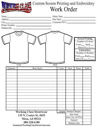 Work Order Sheet Sample And 100 Work Order Template Excel U Doc