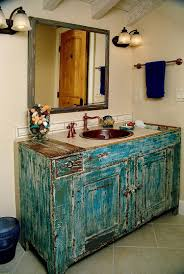 Kitchen Blue Painted Kitchen Cabinets Vanity That Epitomizes The