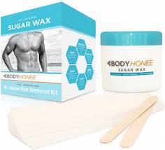 bodyhonee hair removal waxing kit
