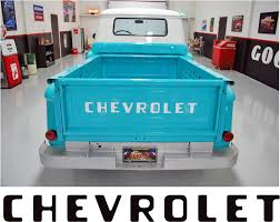 1955-87 STEPSIDE CHEVY CHEVROLET PICKUP TRUCK TAILGATE LETTERS ...
