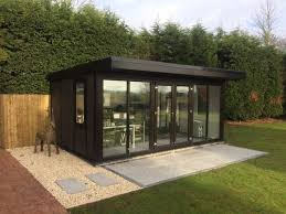 outdoor garden office. a garden office can be customised to suit any working environment they come fully insulated with windows doors and electrical supply making them an outdoor