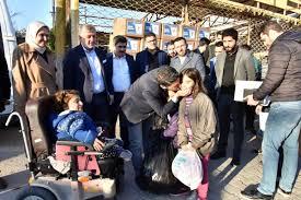 Hatay, Adana ve Mersin'den deprem bölgesine yardım malzemesi desteği -  Mersin