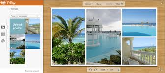 photo collage template powerpoint make a collage using picmonkey