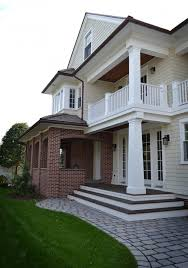 exterior paint colors with red brickexterior paint colors with red brick Exterior Farmhouse with black