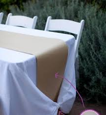 how to make a kraft paper table runner tie a tablecloth knot regarding large round paper tablecloths