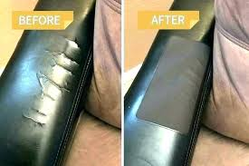 ripped leather couch fix how to repair torn faux tear extensive in sofa 1 a cat