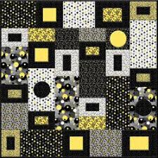 Best 25+ Black quilt ideas on Pinterest | Black and white quilts ... & Kit Urbanista Yellows and Blacks Quilt by Studio E. $69.00, via Etsy. Adamdwight.com