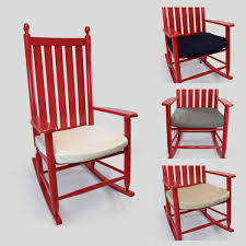 wooden rocking chair with cushion. Modren Rocking Sumbrella Wood Rocking Chair Seat Cushion  In Wooden With