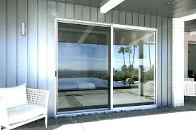 cost to install door trim patio of installing sliding glass