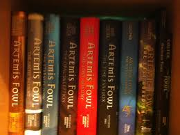 plete set of the artemis fowl series so sad that it s over