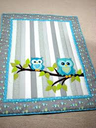 Little Boy Quilts – co-nnect.me & Owl Baby Quilt Whoooo Wouldnt Love To Cuddle With This Adorable Baby Quilt  It Would Be Adamdwight.com