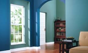 wall paint colour combinations in green shades including bedroom