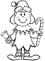 Good Elf On The Shelf Coloring Pages For Elf On Shelf Coloring Pages
