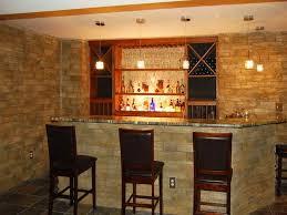 Basement Wet Bar Design Decoration