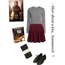 liesel meminger the book thief polyvore inspired by liesel meminger the main character from the book thief created in the