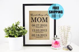 gifts for mom throughout birthday mother 039 s day from daughter personalized