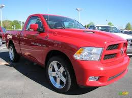 Flame Red 2011 Dodge Ram 1500 Sport R/T Regular Cab Exterior Photo ...