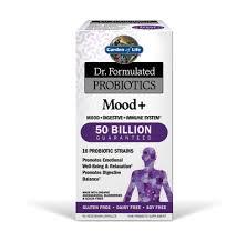 garden of life dr formulated probiotics mood 60 capsules