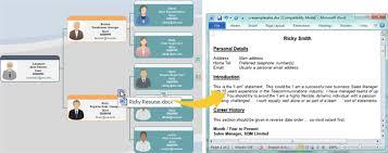 Interactive Chart Software Interactive Organizational Chart