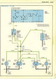 wiring diagrams headlights