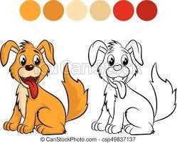 dog coloring book csp49837137