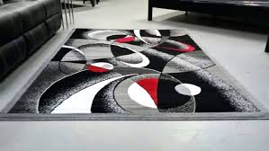 red black and grey area rugs beautiful abstract contemporary white gray rug modern